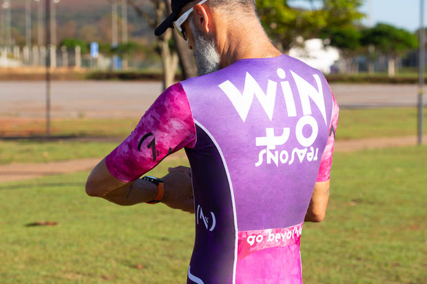 """All Grape"" Hyper Tri-Suit (M)"