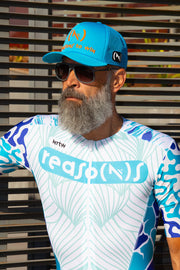"""The Blue Chameleon"" Hyper Tri-Suit (M)"