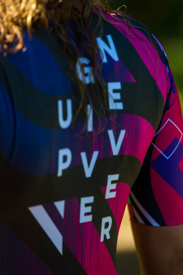 """Never Give Up""  Hyper Tri-Suit"