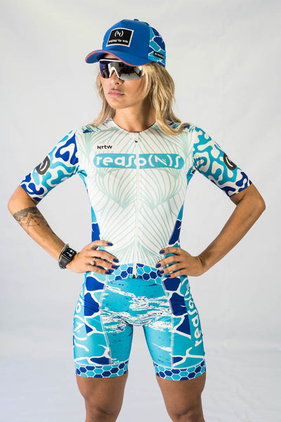 """The Blue Chameleon"" Hyper Tri-Suit (F)"