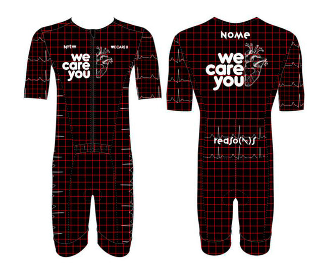 """We Care U"" Hyper Tri-Suit"