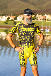 """Yellow Crazy"" Hyper Tri-Suit"