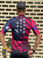 """Never Give Up""  Jersey (M)"