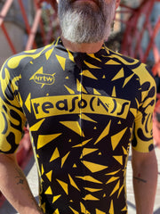 """Yellow Crazy"" Jersey (M)"