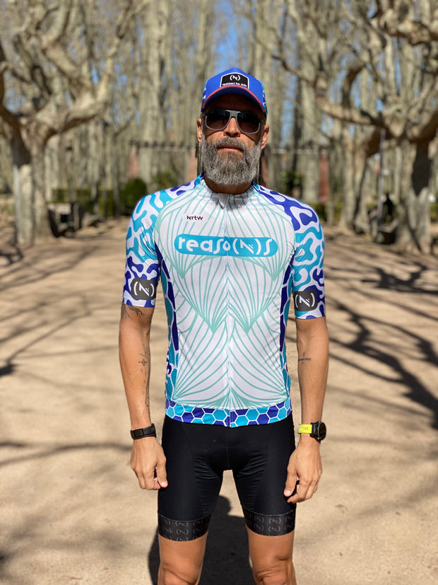 """The Blue Chameleon"" Jersey (M)"