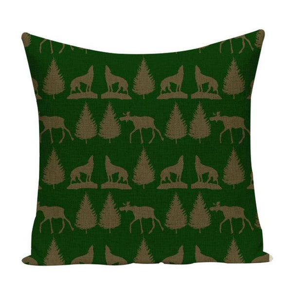 Christmas Printing Pillow Case