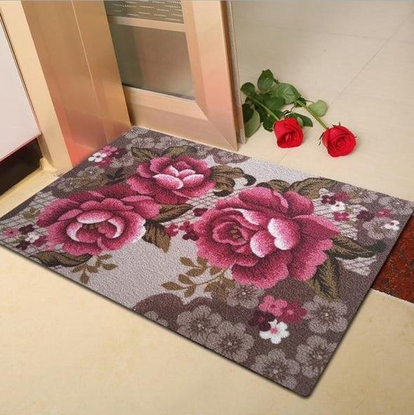 3D Flower Carpet Big Entrance Door Mats
