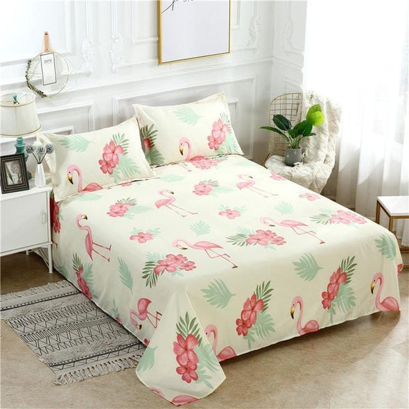 Grinding Wool Printed Bed Sheets