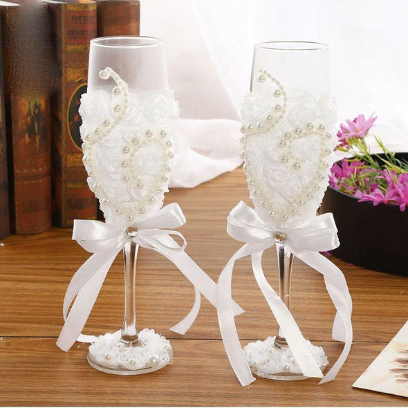 Bridal Party Pair Glass