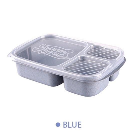 Separate lunch box Portable Bento Box Lunchbox Leakproof Food Container Microwave oven Dinnerware for Students