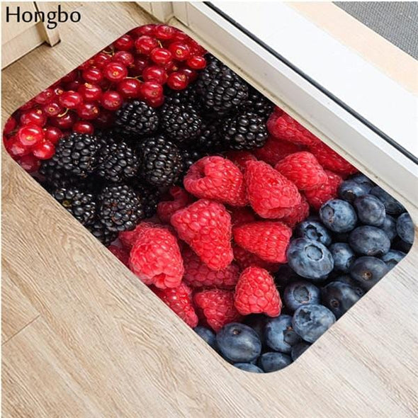 Fruit Pattern Door Mats