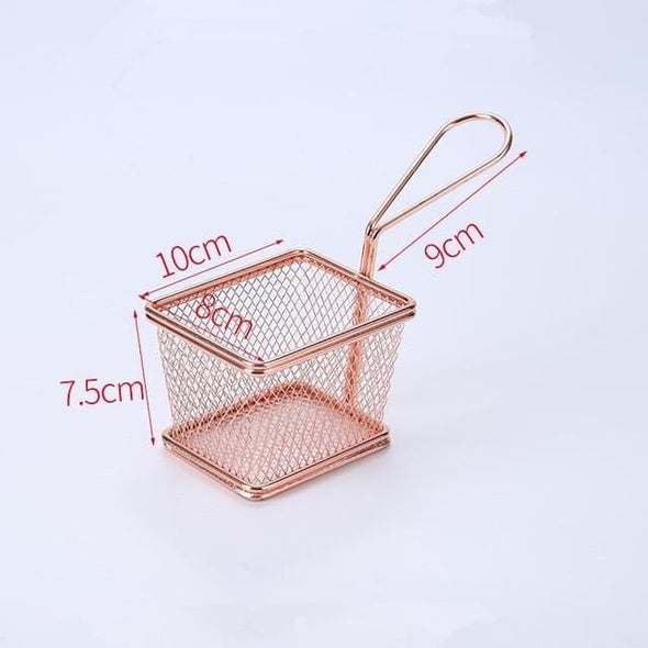 Mini Fry Baskets Stainless Steel