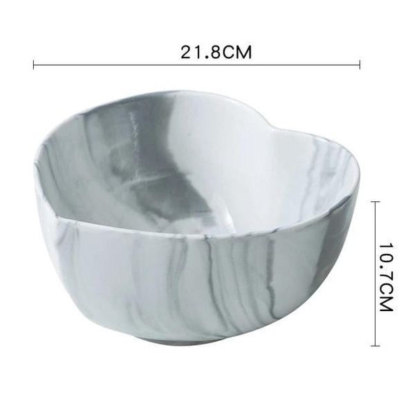 Marble Heart Shape Bowl