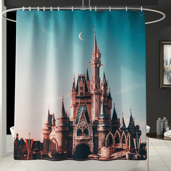 Tower Bridge London City Street Shower Curtain