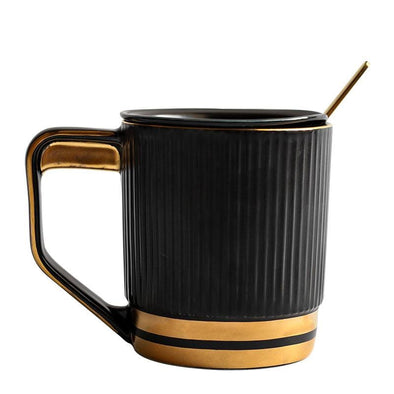 Nordic Striped Ceramic Cup