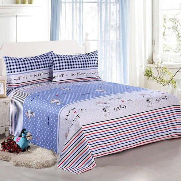 2Pcs Pillow Cases Bed Sheet