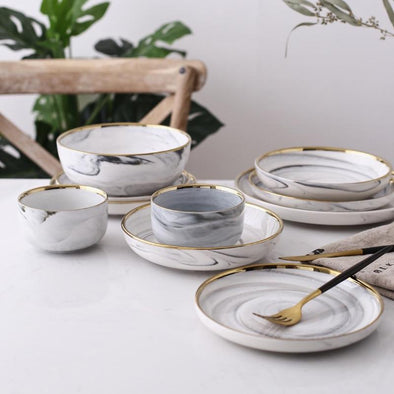 Ceramic Dinner Bowl Set