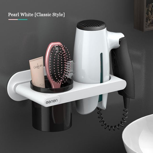 Wall Mount Hair Dryer Holder