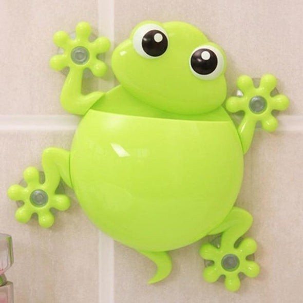 Cute Frog Toothbrush Holder