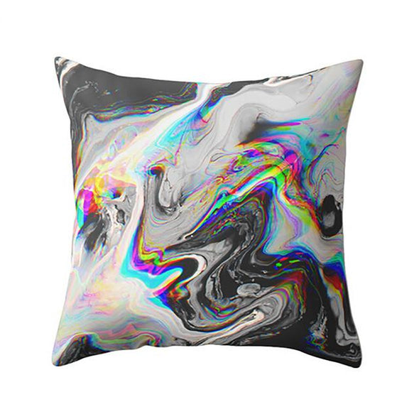Geometric Marble Texture Throw Pillowcases