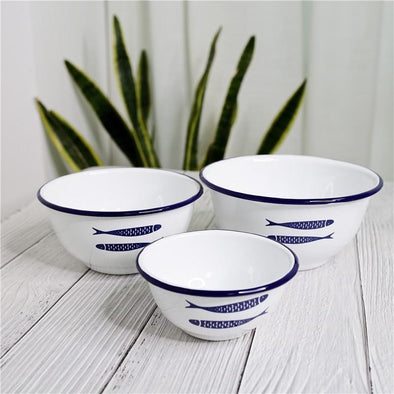 Enamel Dinnerware Set