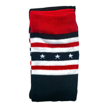 Load image into Gallery viewer, American Flag Thigh High Socks