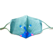 Load image into Gallery viewer, Cat Whisker & Elephant Trunk Kids Mask with Adjustable Strap