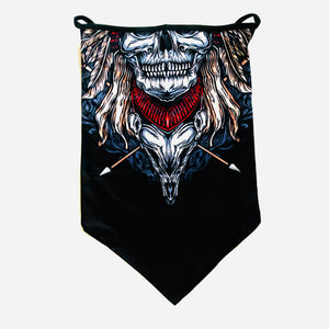 Skull Neck Gaiter with Ear Loops