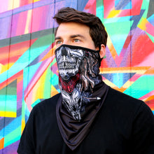 Load image into Gallery viewer, Skull Neck Gaiter with Ear Loops