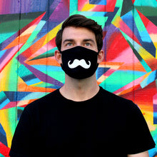 Load image into Gallery viewer, Mustache Face Mask