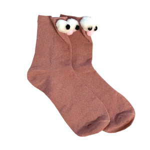 Funny Pop-Up Animal Socks