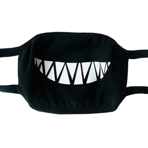 Teeth Face Mask with Smile Design