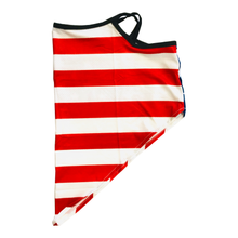 Load image into Gallery viewer, American USA Flag Neck Gaiter with Ear Loops
