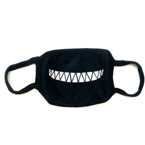Small Teeth Face Mask with Smile Design