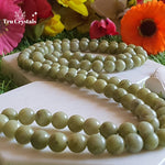 Chrysoprase Japa Mala: To overcome Depression & Emotional Imbalance