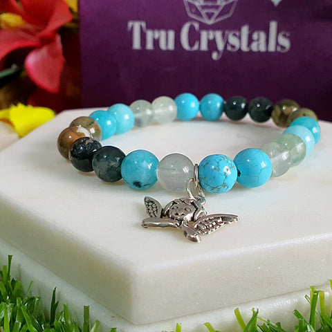 Crystal Bracelet For Luck and Peace