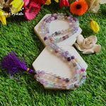 Flourite Japa Mala: For Harmonizing Spiritual Energy