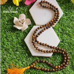 Tiger Eye Japa Mala: For Inner Strength