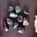 Blood Stone Tumble stones (Pack of 4 stones)