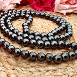 Hematite Japa Mala: For Concentration and Focus