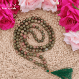 Unakite Japa Mala: For Compassion and Kindness