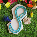 Turquoise Japa Mala: For Joy & Tranquility