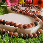 Fire Agate Japa Mala: To Rekindle the Lost Self Confidence