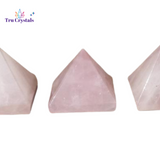 Crystal Pyramids Rose Quartz