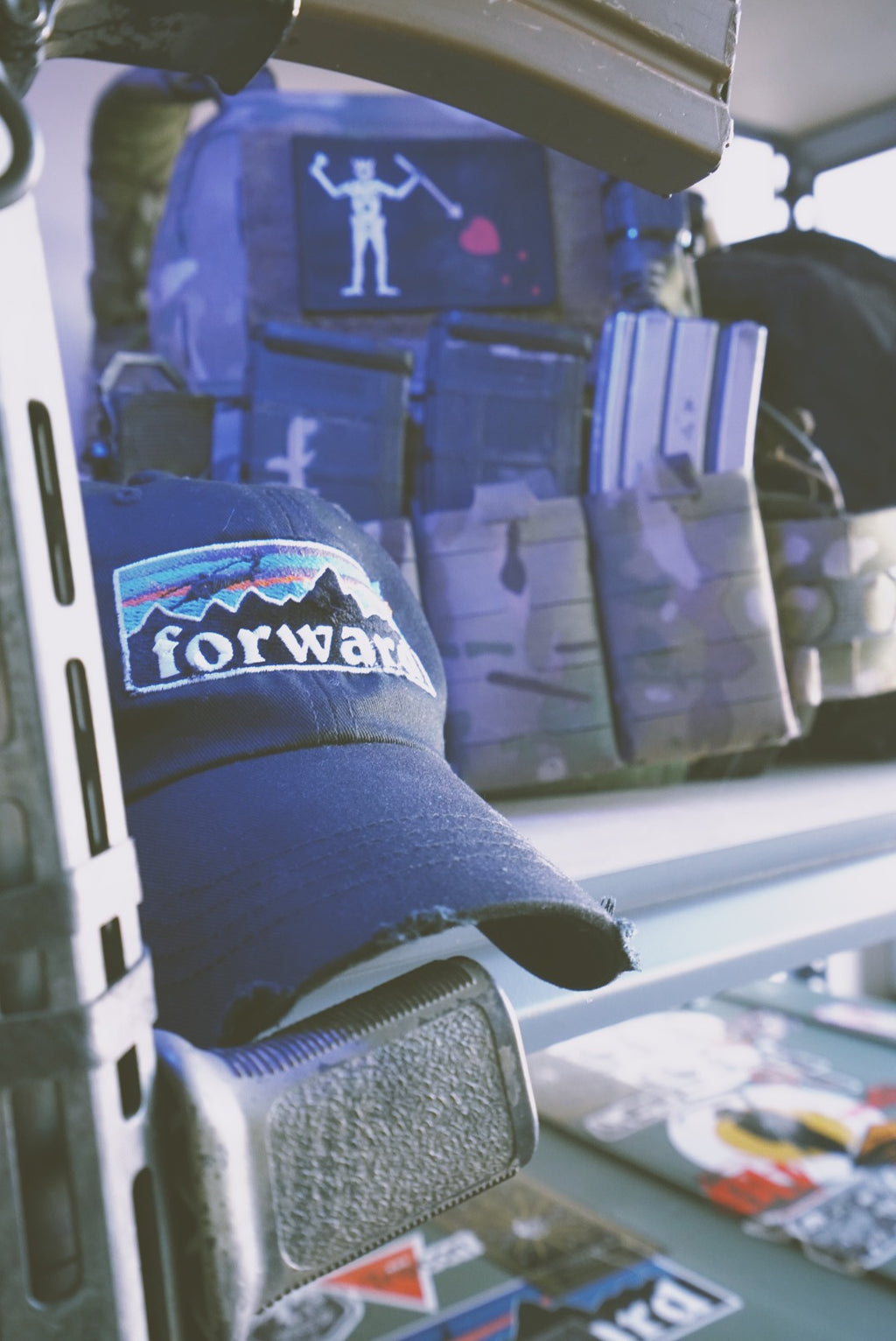 Forward Dad Cap