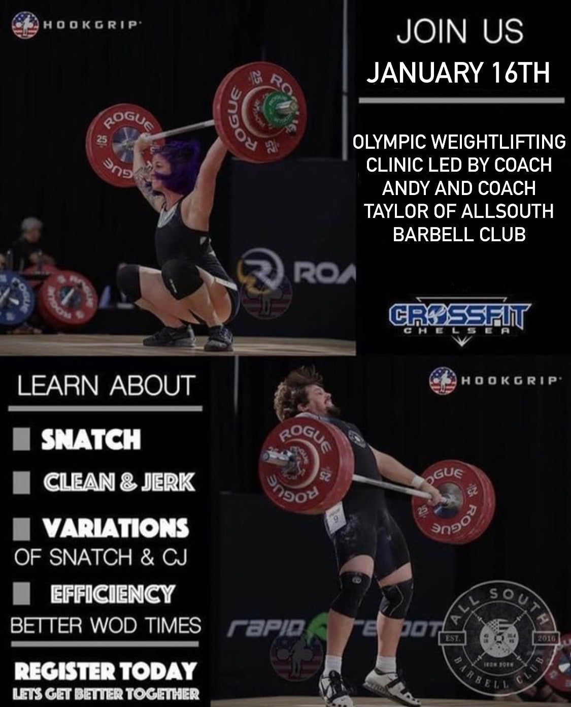 CrossFit Chelsea Weightlifting Clinic