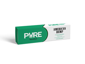 Pure American Hemp Cigarettes, Menthol – Pack of 20 Smooth Pre-Rolled