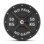 "Horloge Originale <br /> ""No pain no gain"""