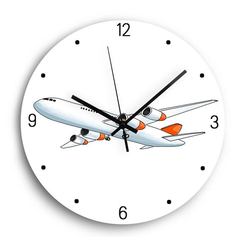 Horloge Enfant <br /> Avion