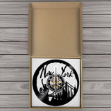 Horloge Vinyle <br /> New York